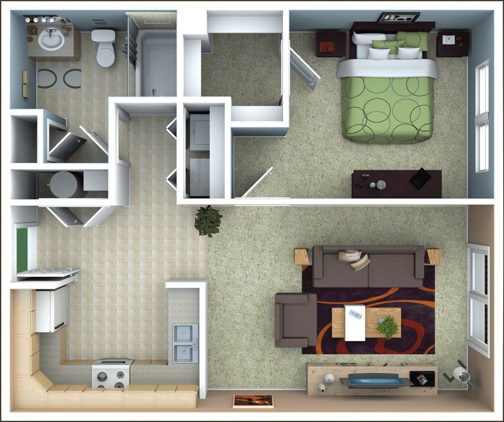 Best Richmond Apartments Floor Plans With Pictures