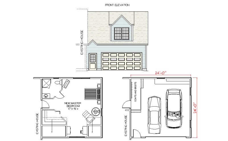 Best Garage With Master Suite Above Addition Garage With Master Suite Above Addition Plans With Pictures