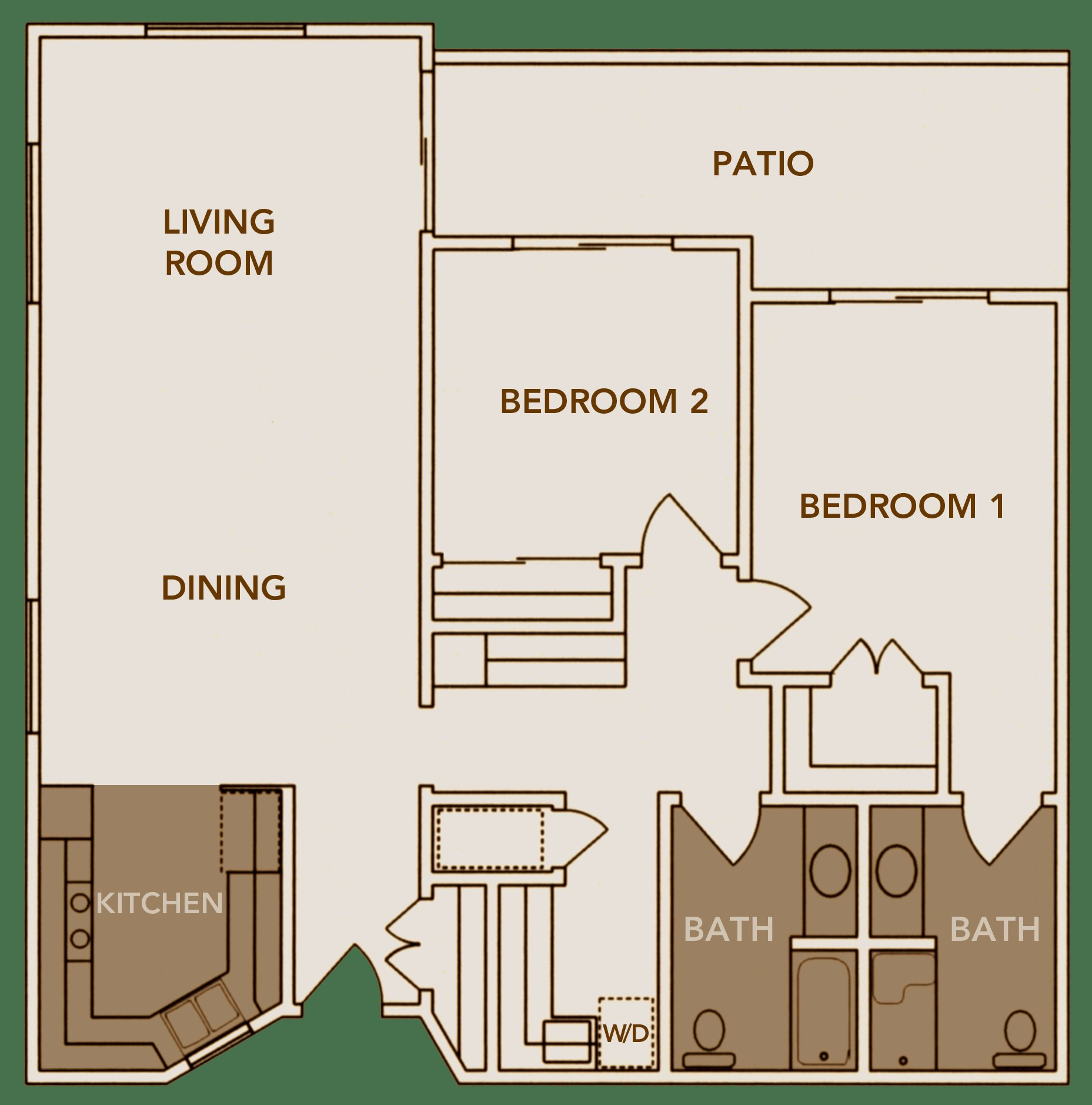Best Floor Plans Inland Christian Home A Multi Level Senior With Pictures