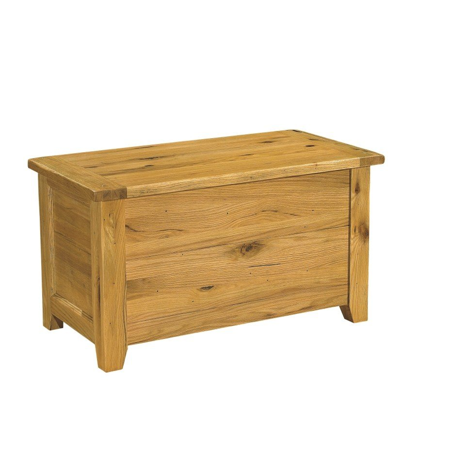 Best Tuscany Solid Oak Bedroom Furniture Blanket Storage Box With Pictures