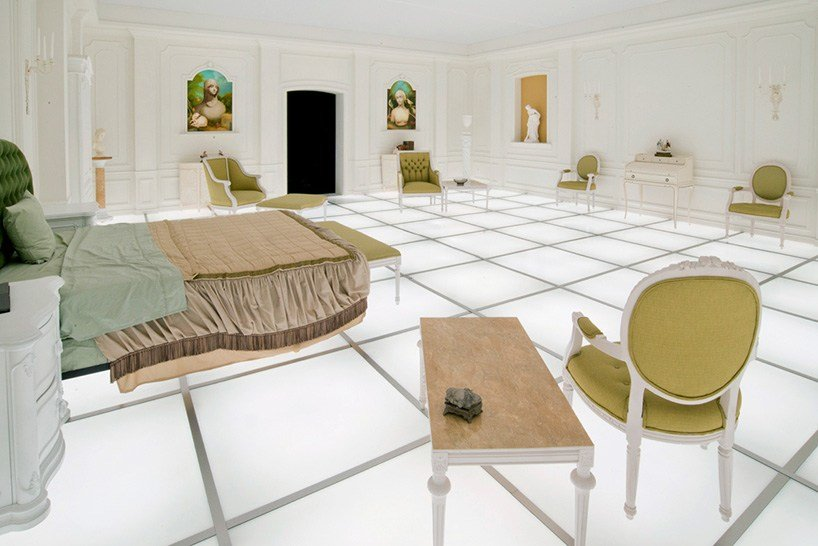 Best '2001 A Space Odyssey' Replica Visit Kubrick's Ethereal Bedroom Indiewire With Pictures