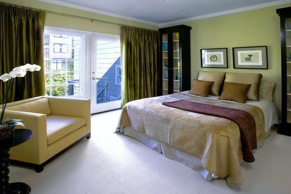 Best Teal And Yellow Curtains Bedroom Color Combinations Ideas Bedroom Color Schemes For Couples With Pictures