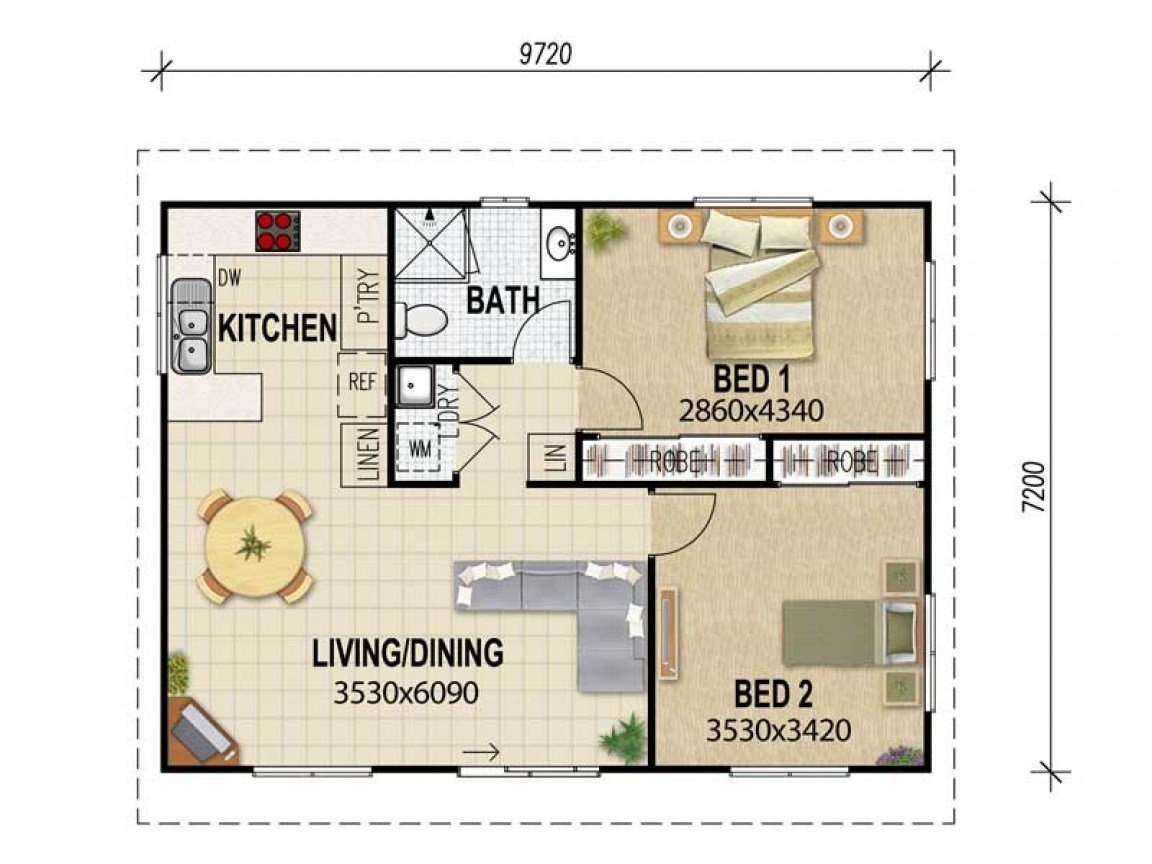 Best 3 Bedroom Flat Floor Plan Granny Flat Plans Granny Flat With Pictures