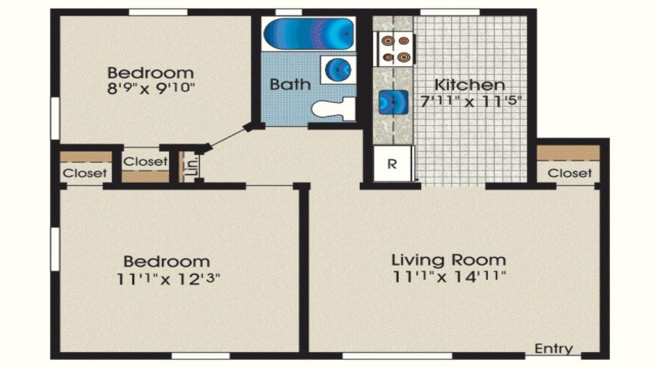 Best 600 Square Foot House 600 Sq Ft 2 Bedroom House Plans 600 With Pictures
