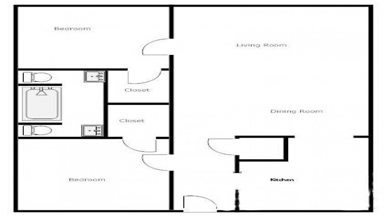 Best 2 Bedroom 1 Bath House Plans 2 Bedroom 1 Bath House House Plans 1 Floor Mexzhouse Com With Pictures