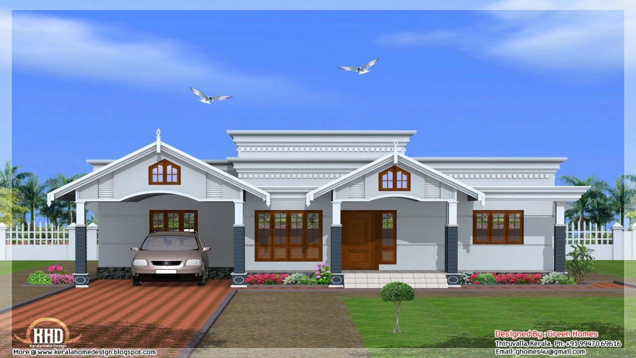 Best 4 Bedroom House Plans Kerala Style Simple 4 Bedroom House With Pictures