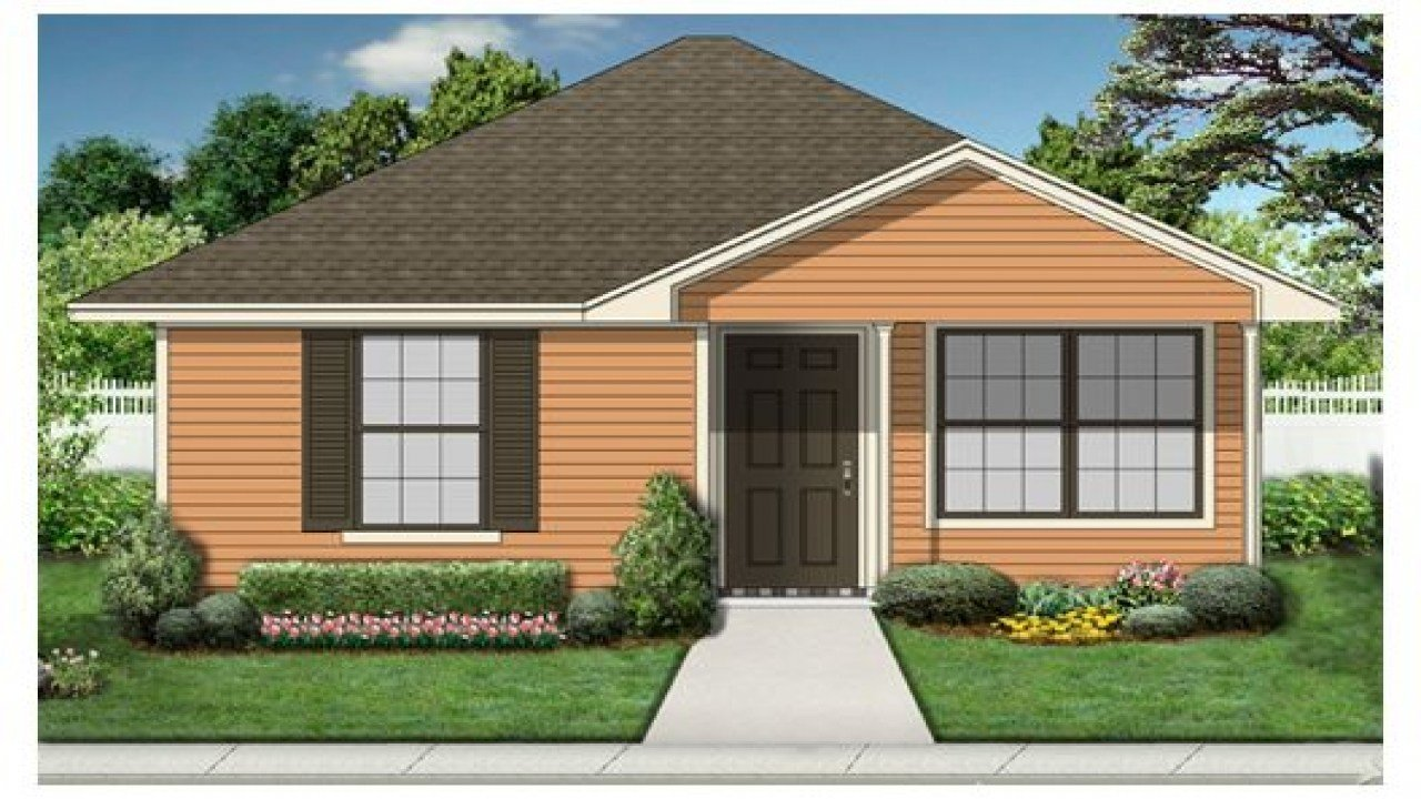 Best One Bedroom House Plans With Garage Small One Bedroom With Pictures