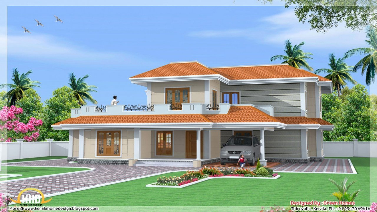 Best Kerala 3 Bedroom House Plans Kerala Model House Design House Plan India Mexzhouse Com With Pictures