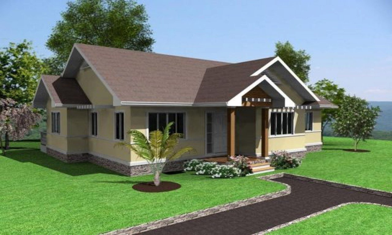 Best Simple House Design 3 Bedrooms In The Philippines Simple Modern House Designs Simple House With Pictures
