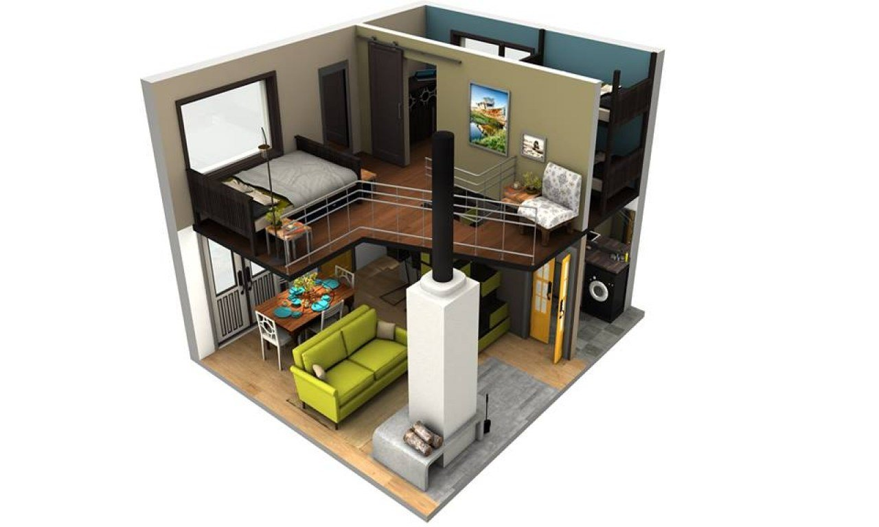 Best Inside Tiny Houses Tiny House Floor Plans With Loft Tiny With Pictures