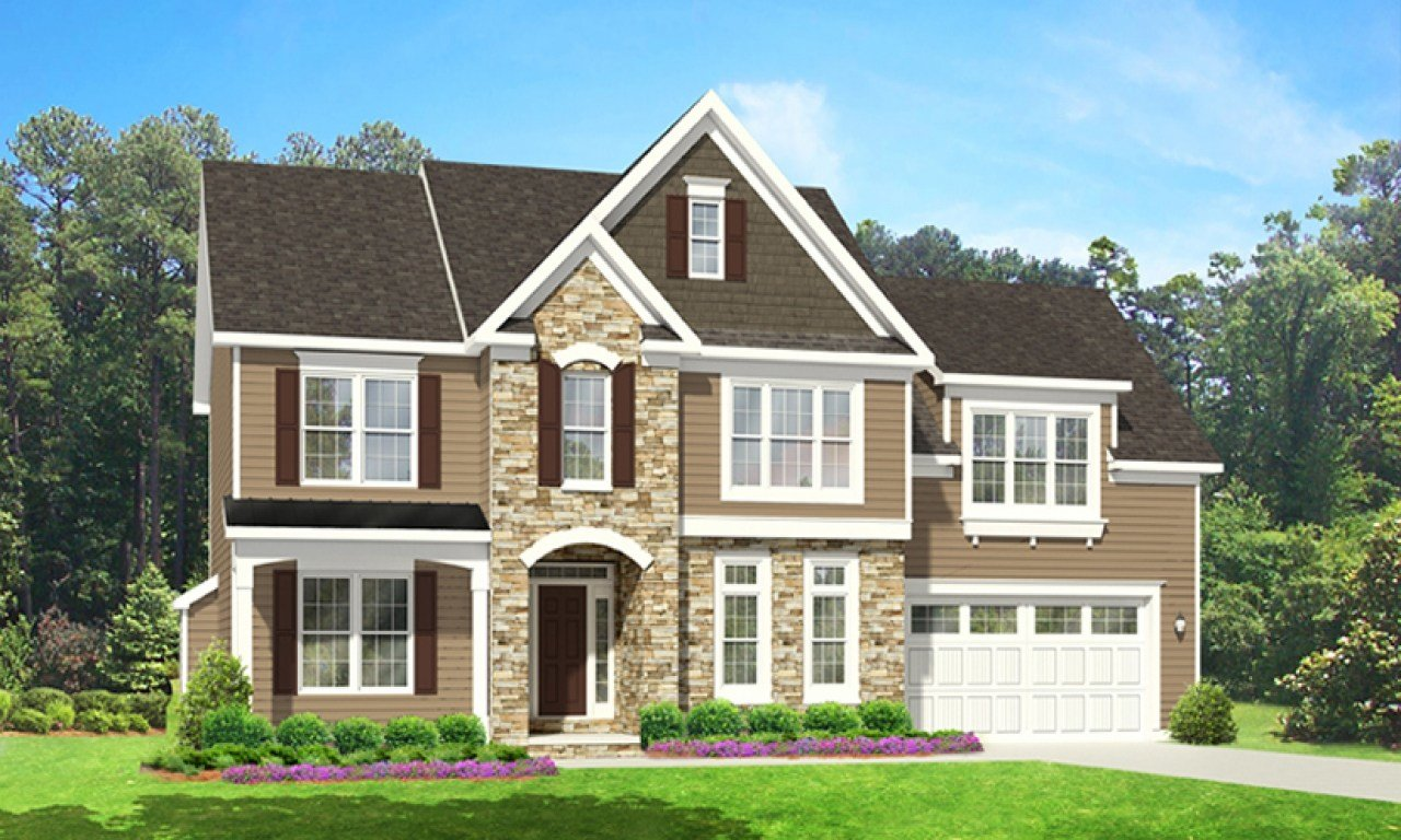 Best With 2 Story House Plans First Floor Master 2 Story House With Pictures