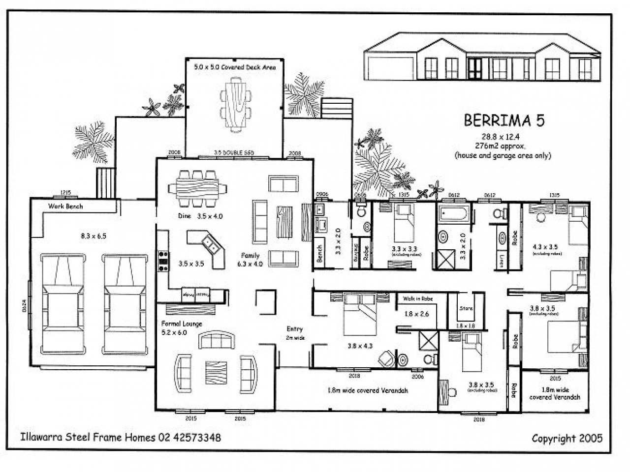 Best Simple 5 Bedroom House Plans 5 Bedroom House Plans 5 Bedroom House Floor Plans Mexzhouse Com With Pictures