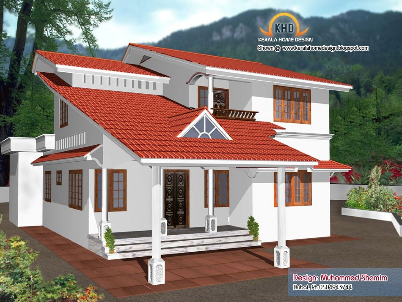 Best Kerala 3 Bedroom House Plans Kerala House Designs And With Pictures