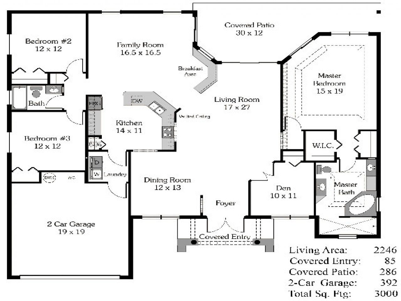 Best 4 Bedroom House Plans Open Floor Plan 4 Bedroom Open House With Pictures