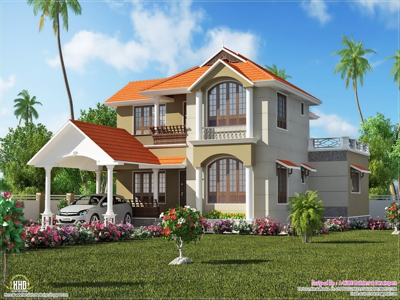 Best Kerala House Designs And Plans Kerala 3 Bedroom House With Pictures