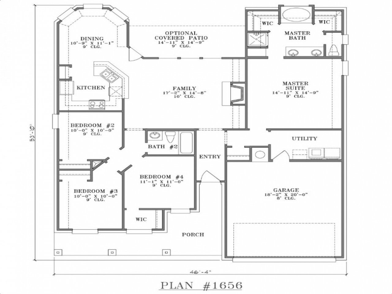 Best House Plans With Two Master Bedrooms Small Two Bedroom With Pictures