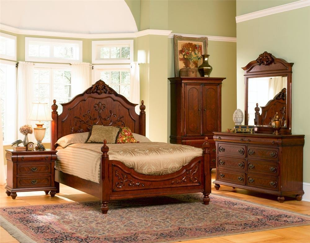 Best Coaster Isabella Carved 4 Pc Bedroom Set With Pictures