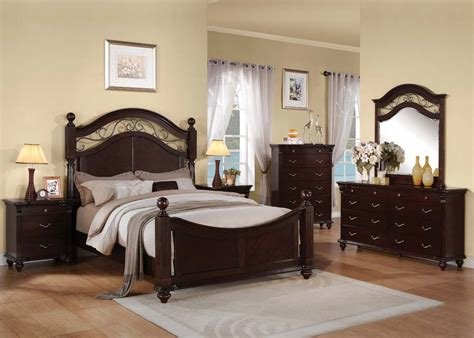 Best Acme Furniture Cleveland Poster Bedroom Set With Pictures
