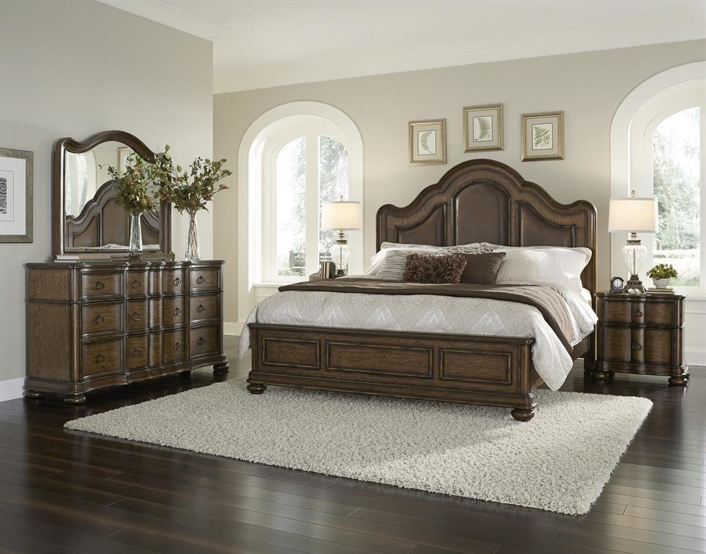 Best 4 Piece Pulaski Quentin Platform Bedroom Set With Pictures