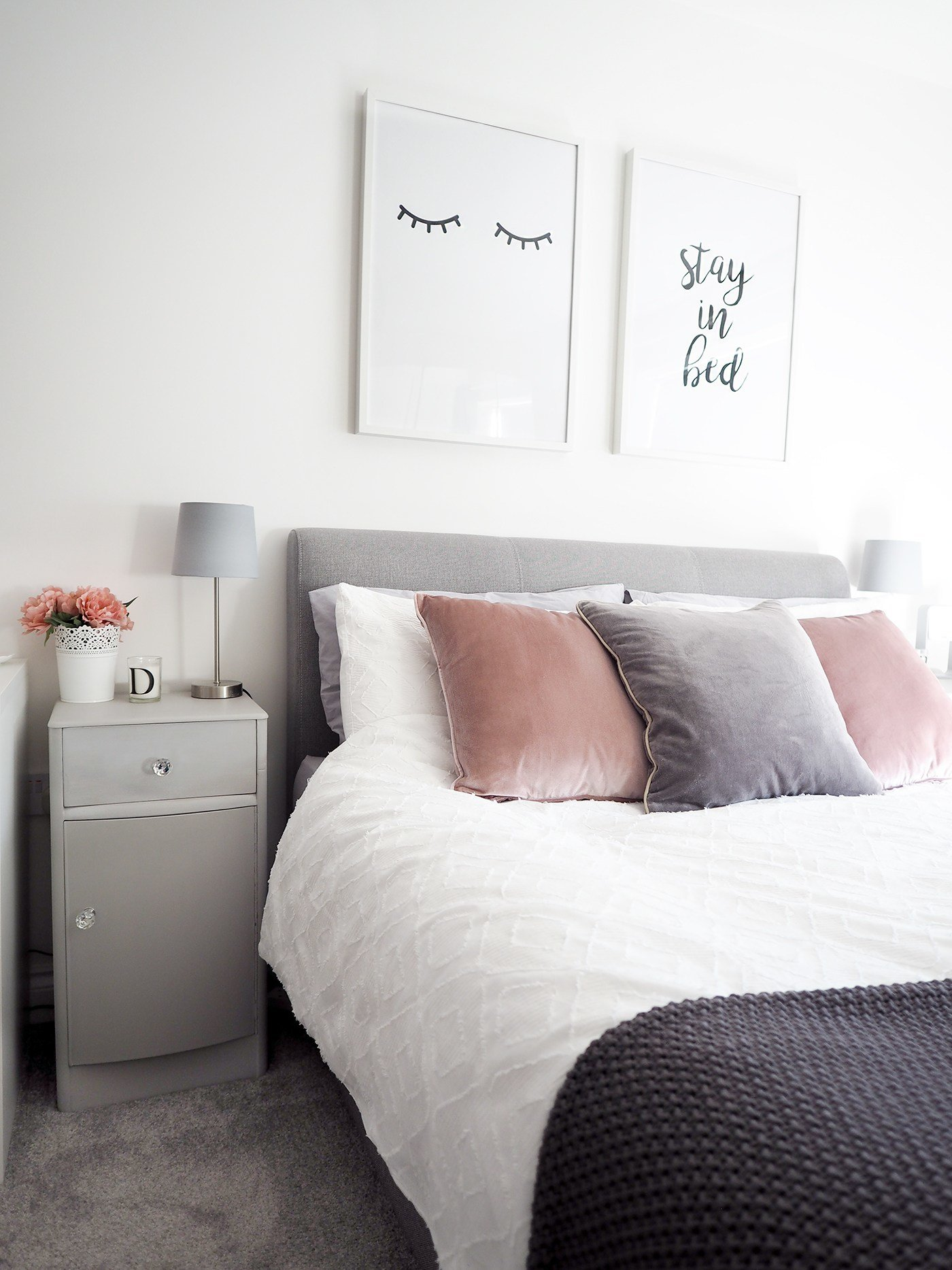 Best Bedroom Tour Pink And Grey Bedroom Decor Bang On Style With Pictures
