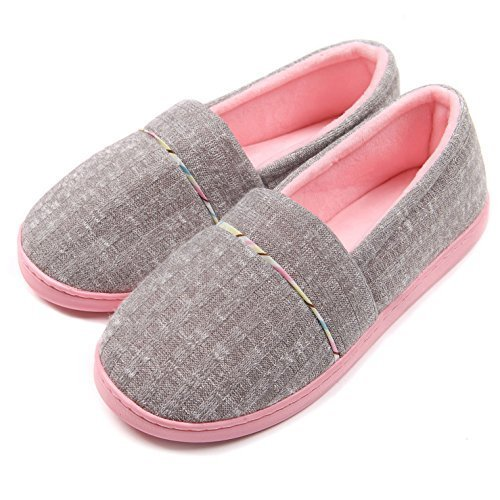 Best Slippers Chicnchic Women Comfortable Cotton Knit Anti Slip With Pictures
