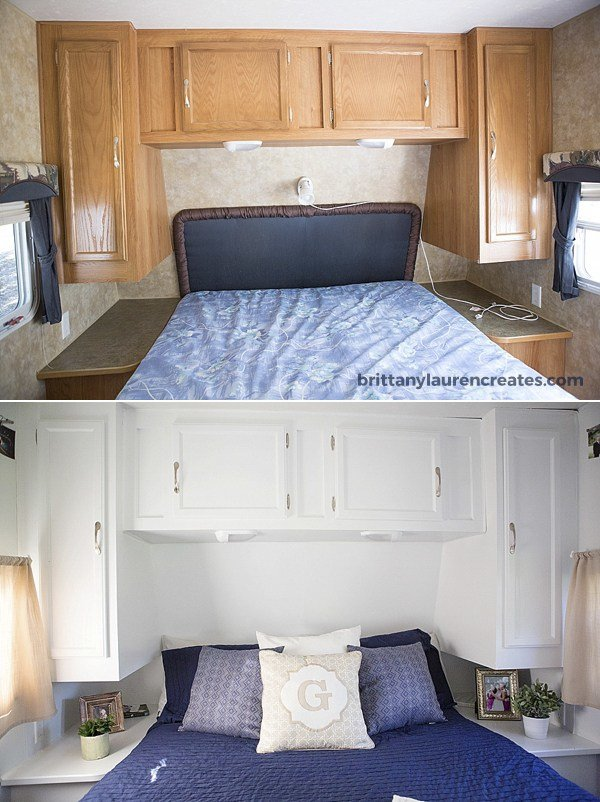 Best Before After Gorgeous Diy Camper Renovation With Pictures