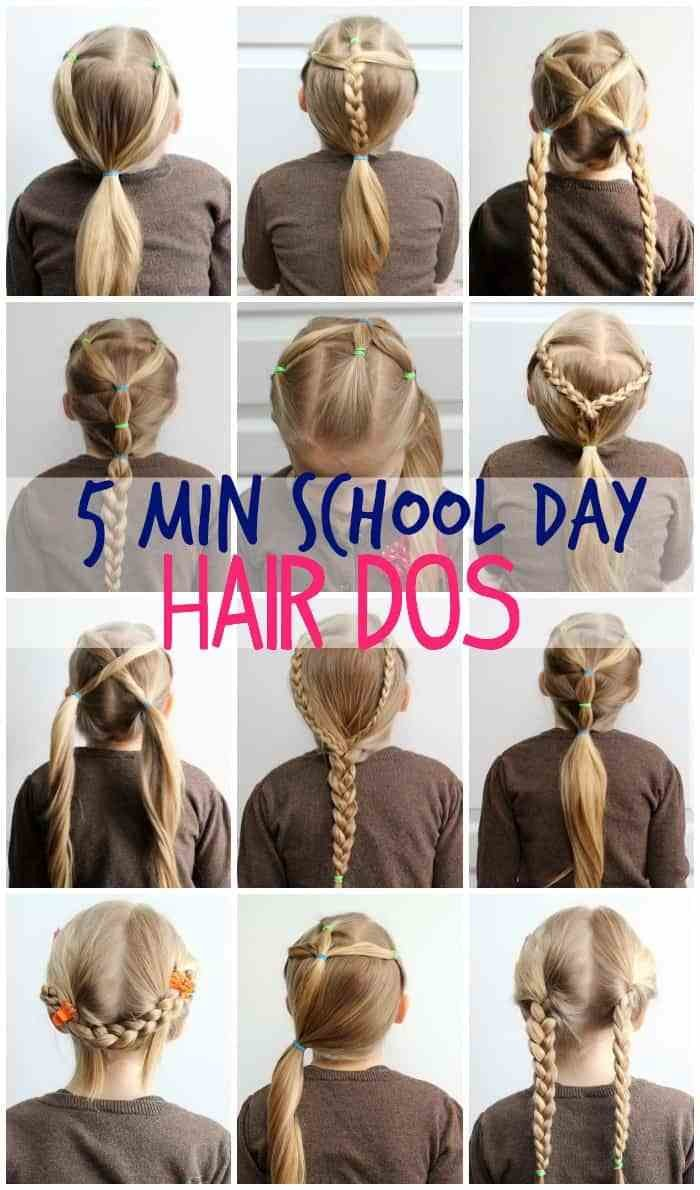 Free 5 Minute School Day Hair Styles Fynes Designs Fynes Wallpaper
