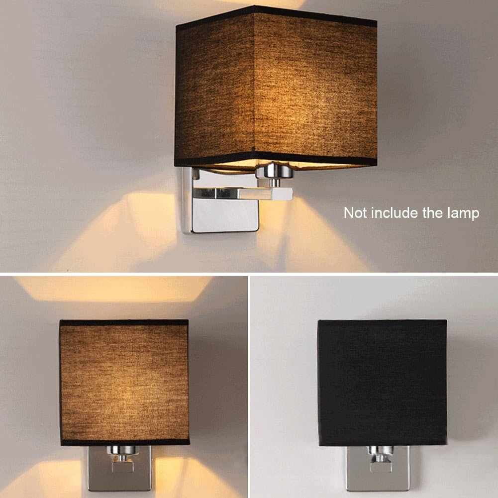Best Modern Led Cloth Wall Lamp Sconce Light Hallway Bedroom With Pictures