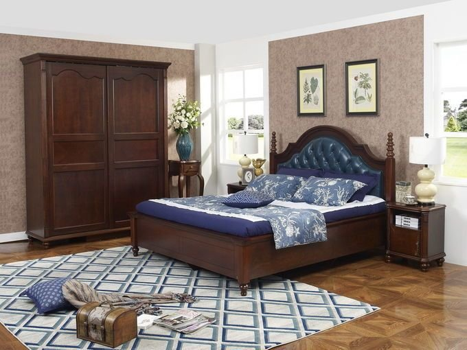 Best Rubber Wood Made Bedroom Furniture Cheap Malaysia Imported With Pictures