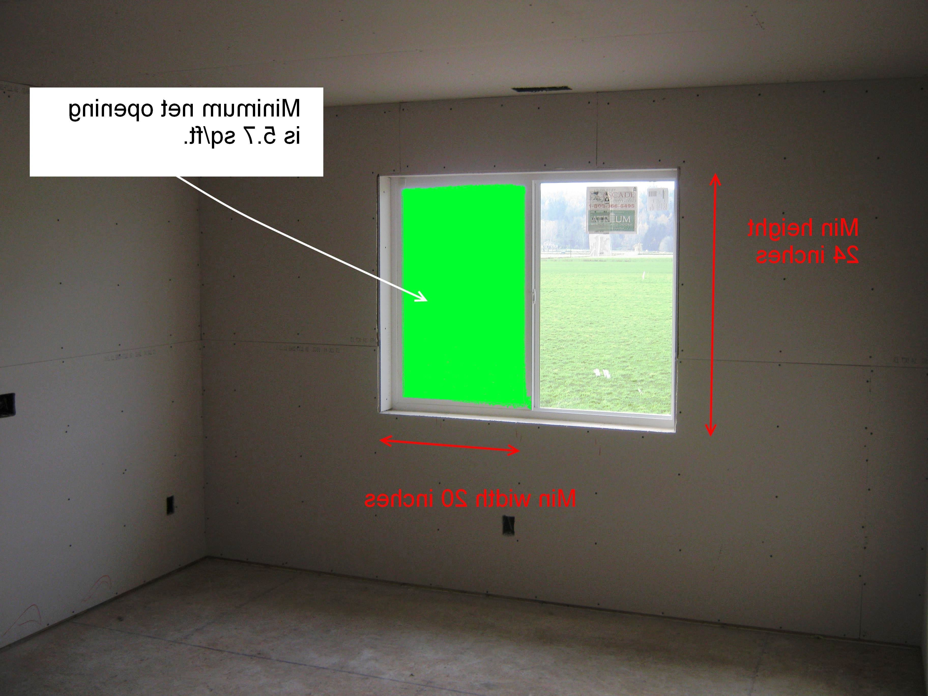 Best 16 Basement Bedroom Egress Requirements Adding A Basement With Pictures