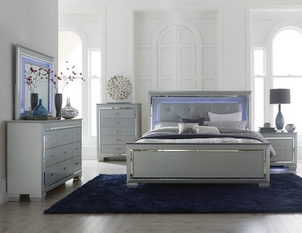 Best Allura Bedroom Collection Las Vegas Furniture Store Modern Home Furniture Cornerstone With Pictures