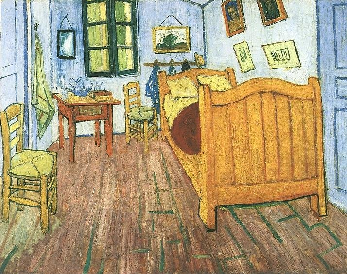 Best Vincent Van Gogh The Paintings Vincent S Bedroom In Arles With Pictures