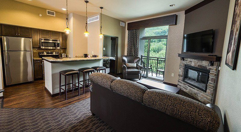 Best Poconos Family Resorts All Inclusive 2 Bedroom Condo With Pictures