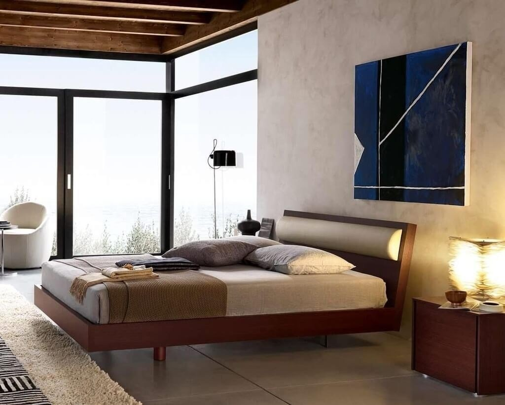Best Contemporary Solid Wood Bedroom Furniture Cileather Home With Pictures