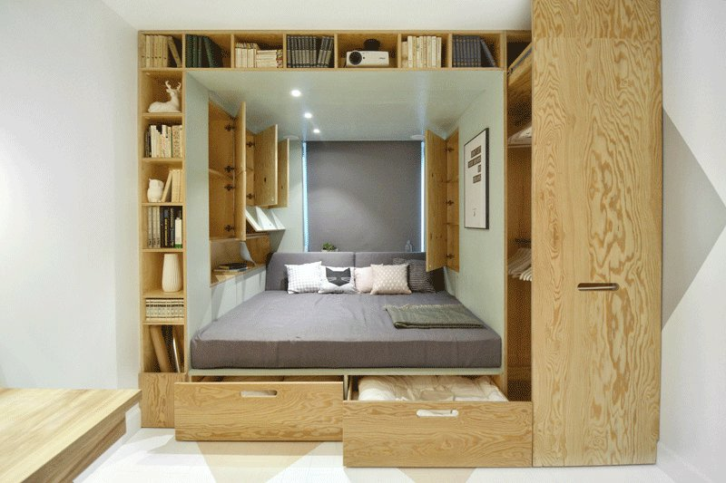 Best 13 Amazing Examples Of Beds Designed For Small Rooms With Pictures