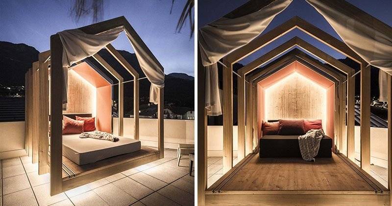 Best The Rooftop Bedroom At This Hotel Lets You Lie In Comfort With Pictures