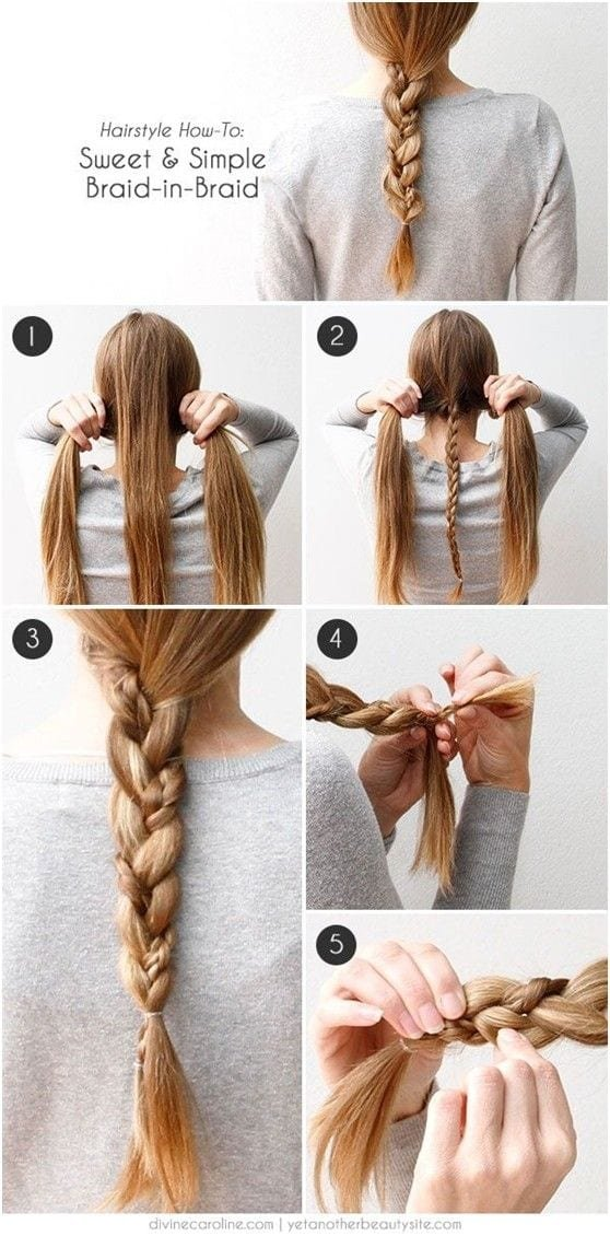 Free 20 Cute And Easy Braided Hairstyle Tutorials Wallpaper