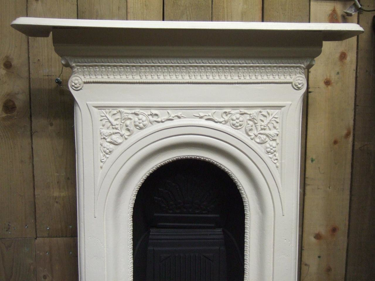 Best Victorian Cast Iron Bedroom Fireplace 140B Old Fireplaces With Pictures