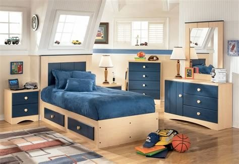 Best Cool Boys Bedroom With Cream And Blue Furniture With Pictures