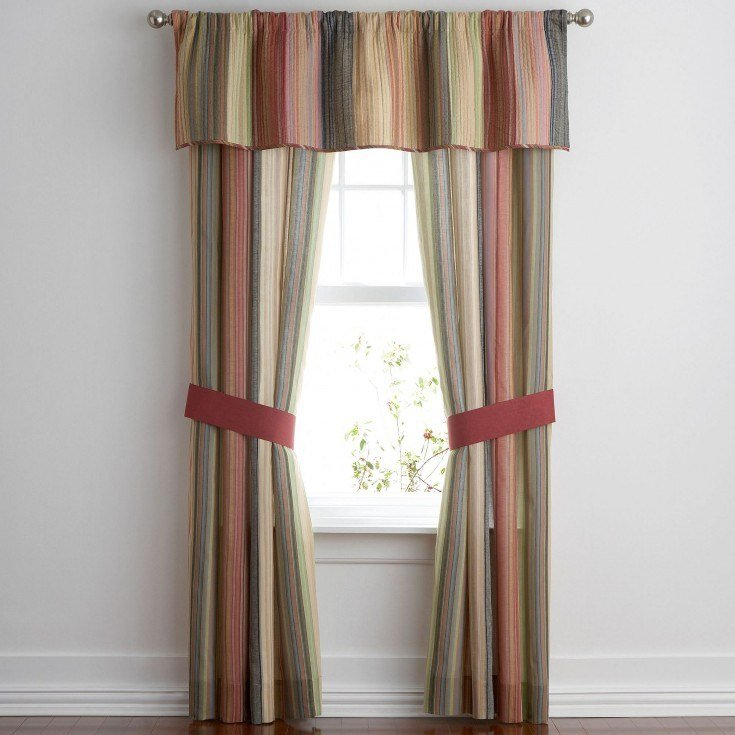Best Curtain Enchanting Jcpenney Valances Curtains For Window With Pictures
