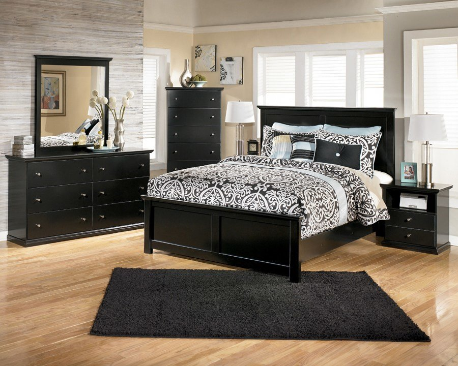 Best Maribel Collection B138 Ashely Bedroom Set With Pictures