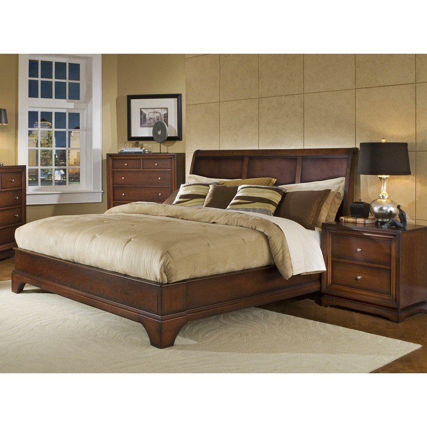 Best Lifestyle Solutions Hampton Queen Size Platform Bedroom With Pictures