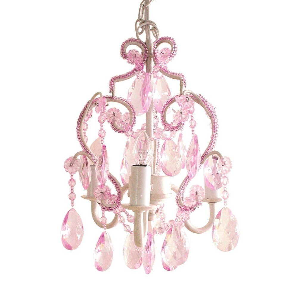 Best Pink Chandelier For Girls Room Whyrll Com With Pictures