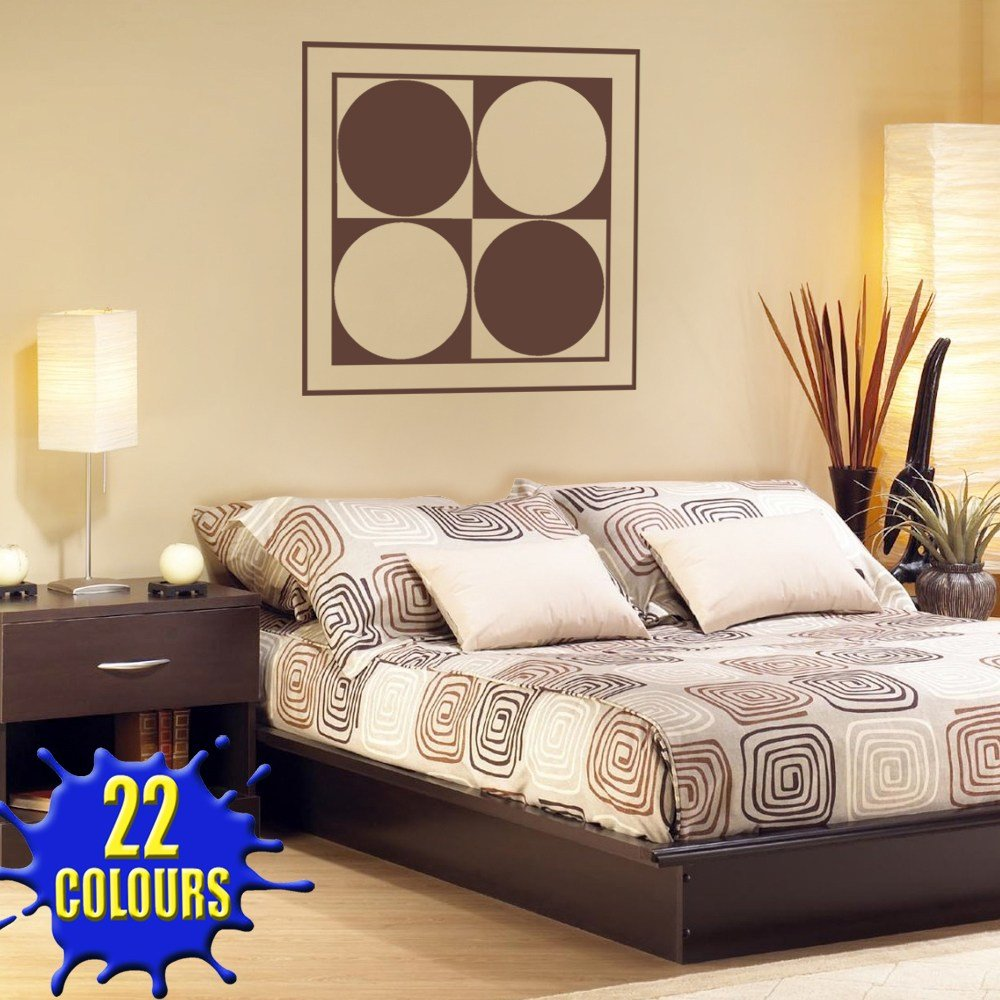 Best Abstract Modern Wall Art 2 Wall Decal Sticker Lounge With Pictures