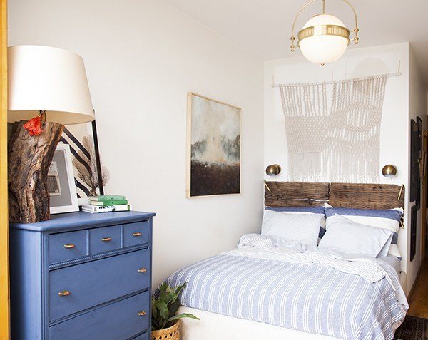 Best Before After A Small Space Bedroom Makeover Lonny With Pictures