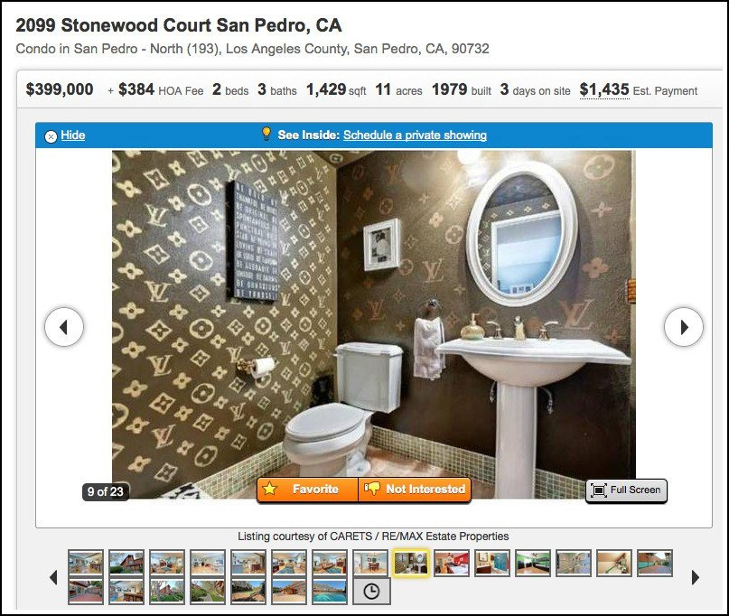 Best A Louis Vuitton Bathroom Can Be Yours For Only 399 000 With Pictures