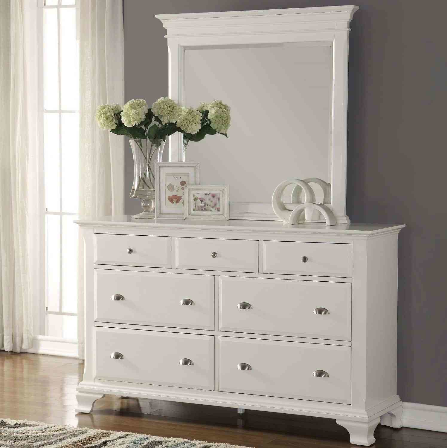 Best White Bedroom Dressers White Dressers With Pictures Original 1024 x 768