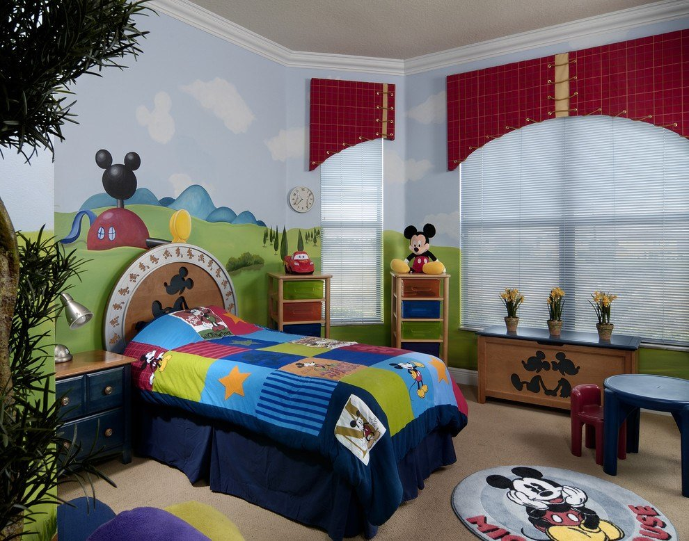 Best Cute Mickey Mouse Interior Decor Theme 3824 Latest With Pictures