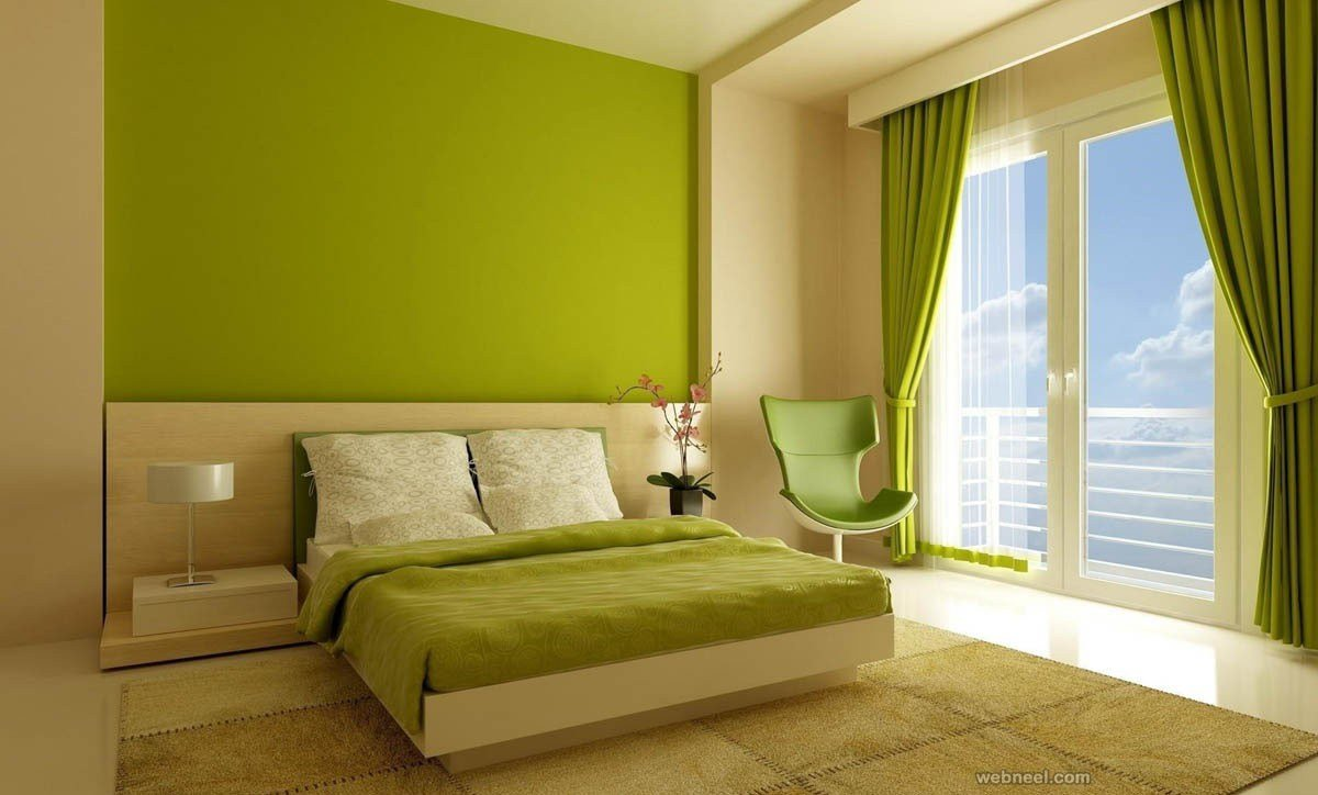 Best Leaf Green Bedroom Color Ideas 2 With Pictures