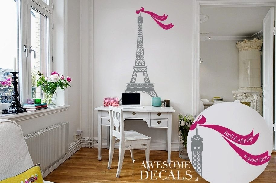 Best Beautiful Eiffel Tower Bedroom Decor Gallery Bedroom Decorating And Disign Colors Ideas With Pictures